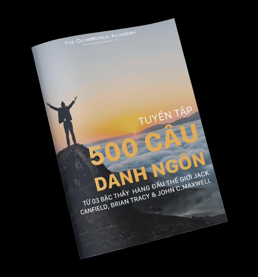 Tuyển Tập 500 Câu Danh Ngôn Truyền Cảm Hứng