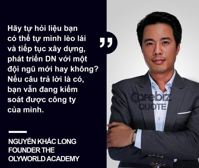 doanh nhan Nguyen Khac Long ban ve lanh dao