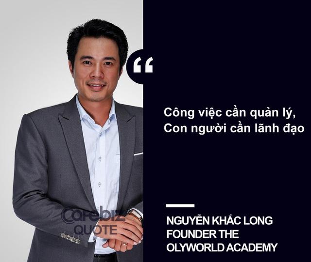 nha dao tao Nguyen Khac Long noi ve lanh dao va quan ly 1